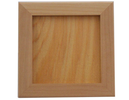 """Unfinished Wood Trivet Frame - Holds 6"""" Tile"""